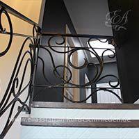 Treppengeländer Innen aus Schmiedeeisen