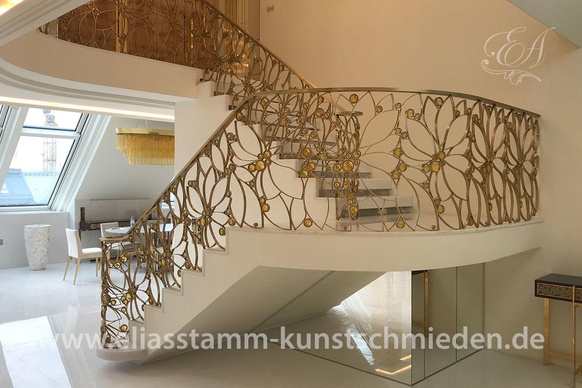 Blickfang Treppengeländer Verschönern Foto Von Treppengeländer Messing Feenauge Treppengeländer Messing