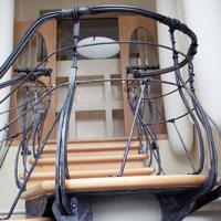 Kunstschmiede Geländer