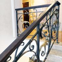 Treppengeländer Schmiedeeisen