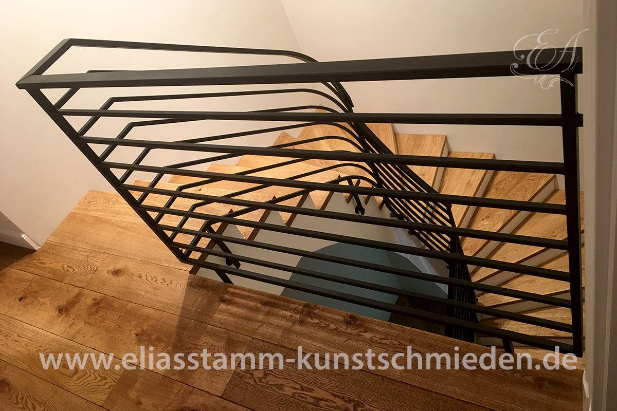treppe schmiedeeisen modern 00