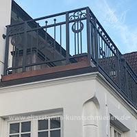Balkongeländer Hamburg Modern