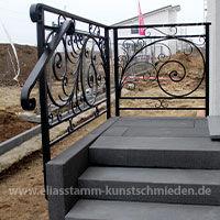Klassisches Geländer aus Eisen