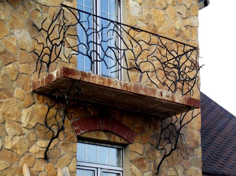 balkongel nder geschmiedet sonderanfertigung designidee. Black Bedroom Furniture Sets. Home Design Ideas