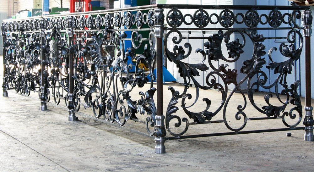 Balkongelander Geschmiedet Sonderanfertigung Designidee