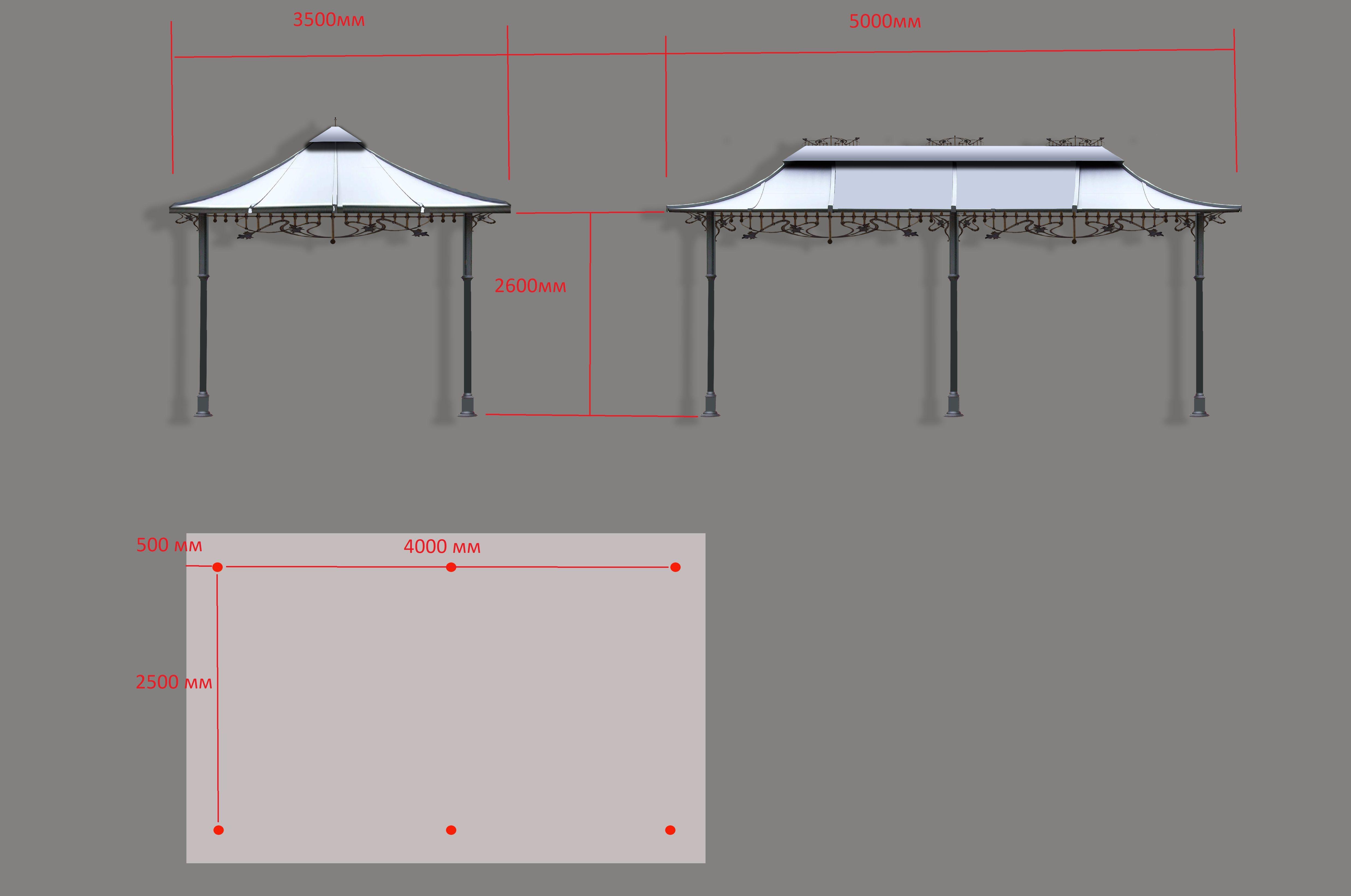 Visualisierung Pavillons garten Gross 15.02.2018