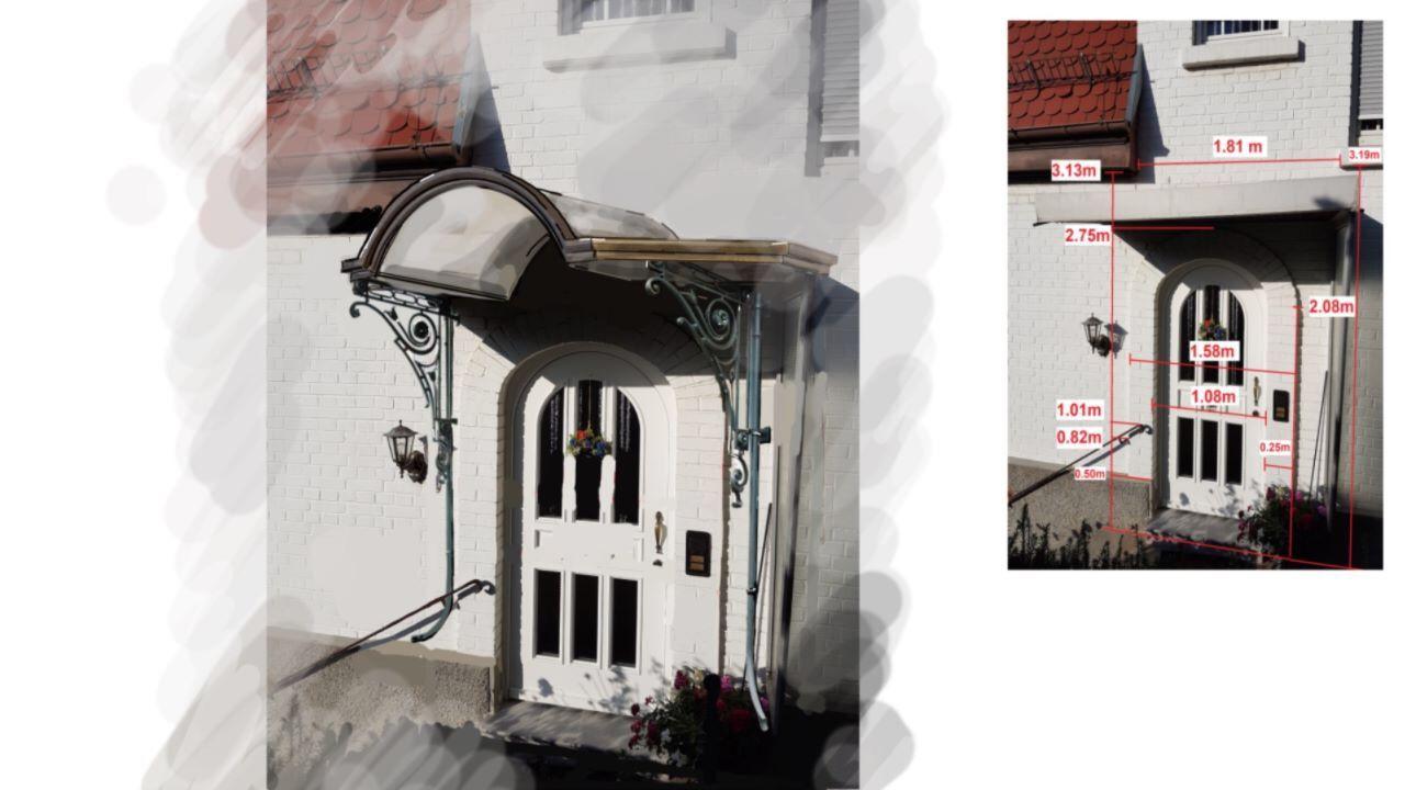 Für jedes Haus ein passendes Vordach!