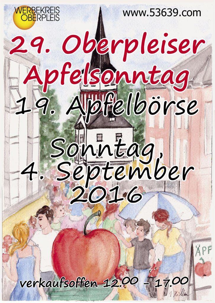 Am 2. September 2018 verkaufsoffener Sonntag in Oberpleis.